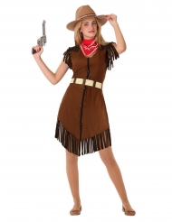Cowgirl-Cornelia tonåringsdräkt