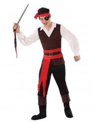Piraten Pandulf tonårsdräkt