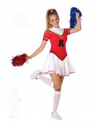 Amerikansk cheerleader tonårsdräkt