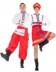 Traditionell rysk pardräkt vuxen