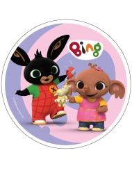 Bing™ rosa tårtlock av stärkelse 21 cm