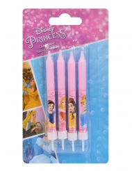 4 disney Princesses™ födelsedagsljus 9 cm