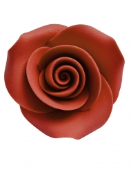 8 dekorativa socker-rosor 3,3 cm