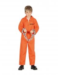 Orange fångdräkt barn