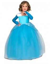 Prinsessan Pernilla blå barndräkt