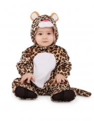 Fläckig leopard bebisdräkt