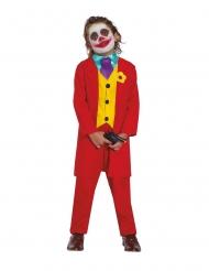 Röd clowndräkt barn
