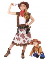 Cowboy pardräkt mor & son