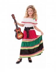 Mexikanaren Milda barndräkt