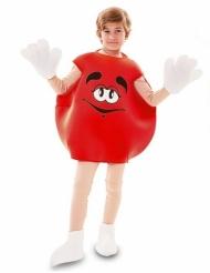 Röd godisdräkt barn