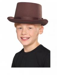Formad brun barnhatt