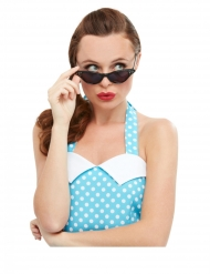 Retroglasögon med strass dam