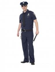 NYC polisdräkt större herrstorlek