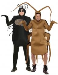Fluga & kackerlacka pardräkt vuxen