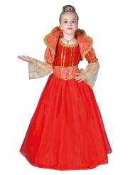 Röd drottning barndräkt