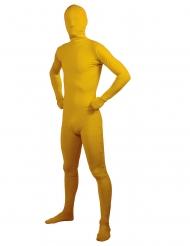 Second Skin gul vuxendräkt
