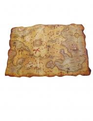 Sjörövarkarta 29x45 cm
