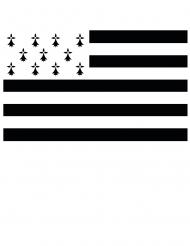 Bretagne supproterflagga 150x90 cm