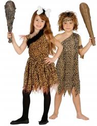Grottmänniskor pardräkt barn