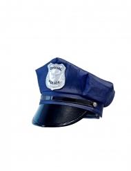 Blå poliskeps barn