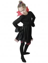 Svartröd vampyr flickdräkt