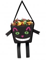 Rolig svart kattväska 17 cm