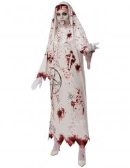 Blodig nunna damdräkt