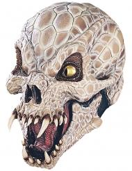 Lyxig latexmask dödskalle-orm vuxen