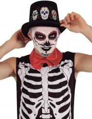 Lysande Dia de los Muertos-hatt vuxen