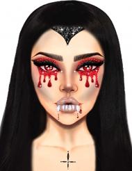 Ansiktssmycken vampyr vuxen