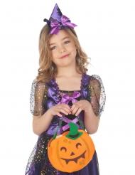 Pumpaformad Halloweenpåse barn