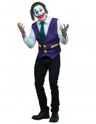 Leende clowndräkt vuxen