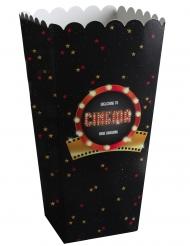 8 Hollywood popcornlådor 6x17 cm
