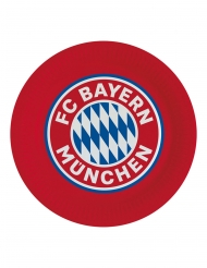 8 FC Bayern München™ papptallrikar 23 cm