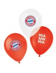6 FC Bayern München™ latexballonger 27 cm