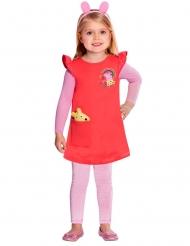 Greta Gris™ rödrosa klänning barn