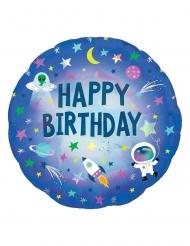 Holografisk födelsedagsballong rymden