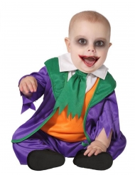 Galen clown bebisdräkt