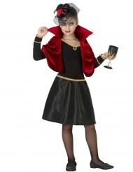 Glammig vampyrdräkt flicka