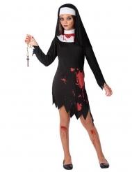 Zombifierad nunna flickdräkt