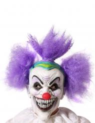 Vild clownmask vuxen