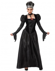 Gotisk svart drottning damdräkt