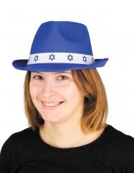 Blå bar Mitzvah-mössa vuxen