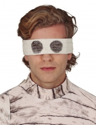 Vit ögonbindel 67 cm