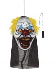 Dekoration enormt clownhuvud 95x35 cm
