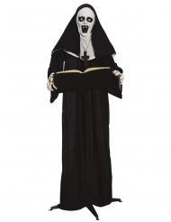 Dekoration med ljud och ljus nunna 165 cm