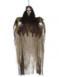 Lysande voodoodekoration 120 cm