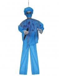 Ljudlig blå kirurgdekoration 100 cm