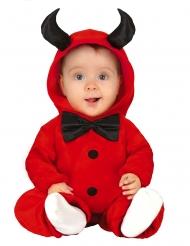 Djävul med fluga bebisdräkt