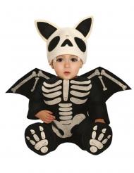 Fladdermus-skelett bebisdräkt